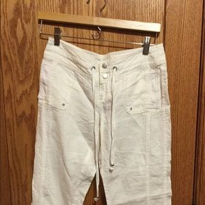 NWT, Guess, Linen Crops, Size 26